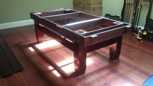 Pool and billiard table set ups and installations in Muskegon Michigan